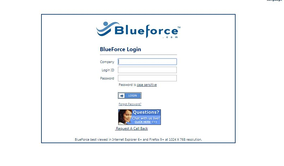 BlueForce Login