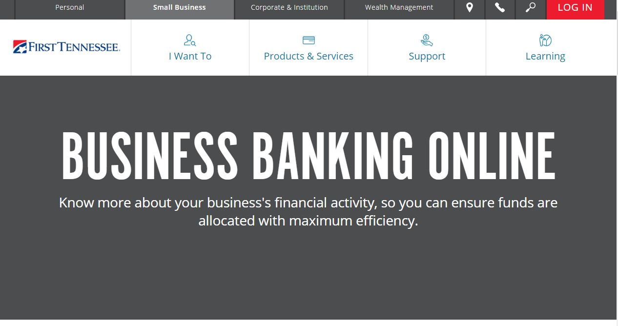 First Tennessee Banking Online Business Login