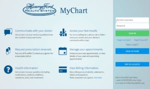 Henry Ford MyChart Login