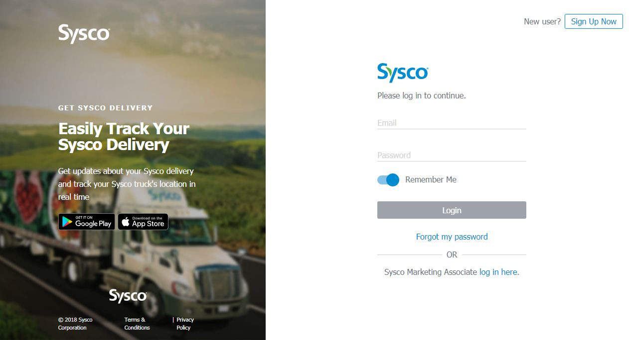 my sysco employee login