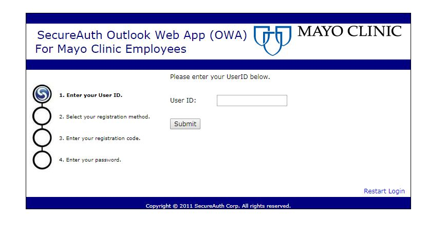 MCMAIL MAYO EDU LOGIN